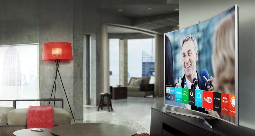 Zakřivené televize