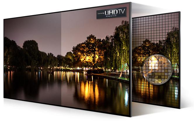 UHD televize Samsung